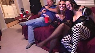 Image: Pantyhose party