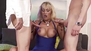 Image: Milf Lana Vegas Stars in an Anal Threesome