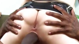 Cuckold Slut Larkin Love Gets Black Dick image
