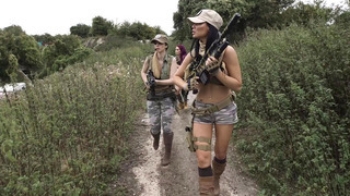 Image: Jasmine Jae, Monique Alexander and Stella Cox are sexy soldiers on_a mission