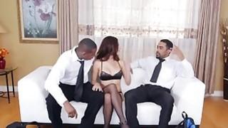 Eva Long is mezmerized by these huge black dicks image