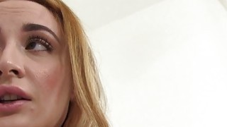 Fake agent promisses_job to amateur after sex image