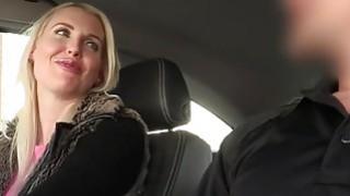 Filthy fake cop bangs hot British blonde image