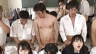 Image: Jav Schoolgirl Gangbang Fucked Finger Squirted In The Classroom A Dozen Cute Teens Outrageous
