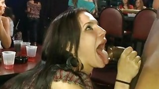 Image: Alluring banging delights with chick spectators