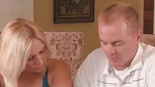 Swinging Couple Watching Girlfriends Fucking Sybian image