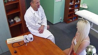 Blonde with problem in sex_fucks doctor image