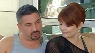 Brand new couple enjoys hard fucking on the_swinger party image