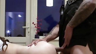 Image: Fake cop anal fucks busty amateur babe till facial