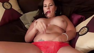Image: USAWives mature lady Dylan masturbating alone