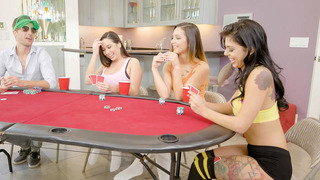 Gina Valentina, Karlee Grey, and Jaye Summers entered a high stakes game image