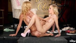 Lesbian MILF banging a young_girl image