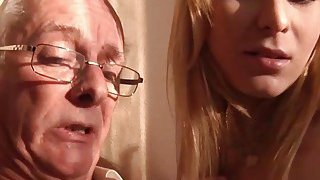 Old Young Porn Grandpa likes to_fuck young girls image