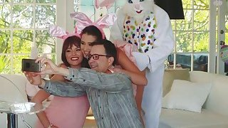 Easter Fucking With Avi Love And Her Pervy Uncle image