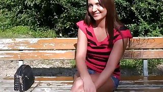 Image: Pretty_eurobabe_flashes_tits_in_the_park_for_some_money