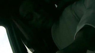 Nasty babe Eveline Dellai fucks a stranger in the car image