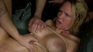 Hot pretty girl gets mind drilled and slavery sex image