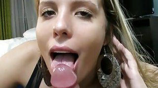 Chick is bobbing up and down boyz lovestick image