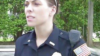 Amateur big black_cock violator_tag team fucked by two kinky police woman image