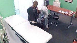 Image: Super hot robber babe fucks doctor