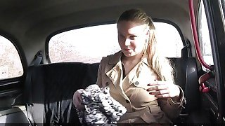 Fake taxi driver bangs_mad blonde amateur_babe image