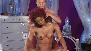 Jasmine Webb Gets Cunt Filled By Masseur Big Dick image