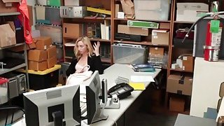 Thief Zoe Jerks And Blows Big Schlong In Office image