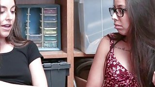 Arielle Faye and Jasmine Summers shares blowjob image