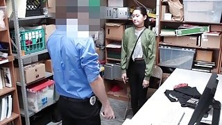 Repeat offender blowjob the LP Officers cock image