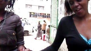 Image: Amateur African Lesbians Taking Hot Shower Together
