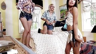 Candy horny teens got fucked on trick day image