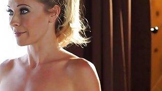 Lesbian massage turns to tribbing image