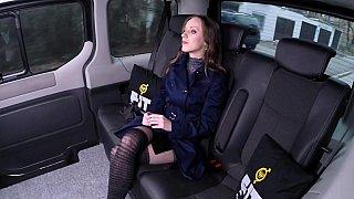 Hung cabbie fucks a teen image