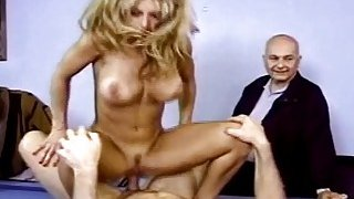 amateur cubby housewife Porns - Housewife gets fucked in front of husband and loves it image