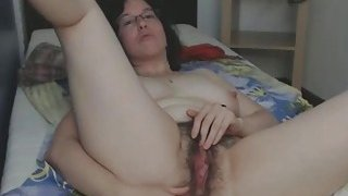 Super_Hairy_Milf_Enjoys_Anal_And_Pussy_Fuck image