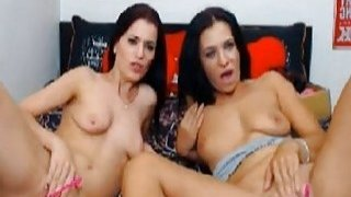 Two Lesbian Babes Loves to Have a Lesbian Sex image