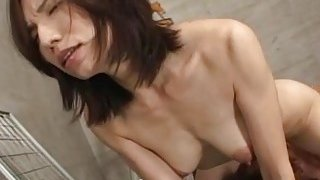 Subtitled mature Japanese woman blue collar boss image