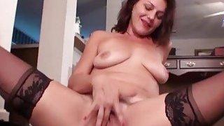 Image: Hairy Pussy Ava Austin Masturbate