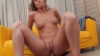Image: Handsome Czech girl gets seduced outdoors and drilled hard indoors