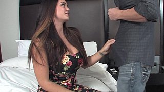 Image: Big booty brunette gets banged