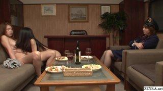 JAV Secret Prison CFNF lesbian oral_HD Subtitles image