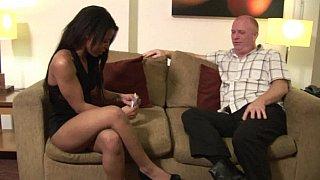 Explicit interracial sex image