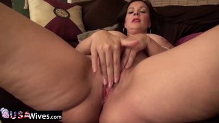 Image: USAwives Solo Matures Toy Masturbation Compilation