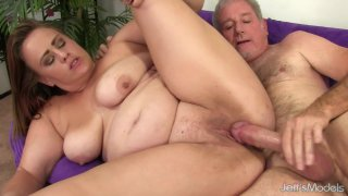 Image: Chubby Babe Randi Paige Takes a Fat Dick in Her Mouth and Cunt