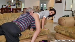 D by dirty old man and sexy mature xxx Riding the Old Wood image
