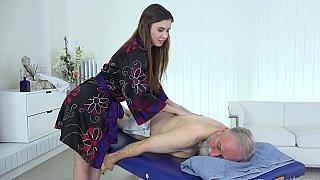 Image: Fully body massage for grandpa