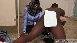 Arab straight girls Black vs White My Ultimate Dick Challenge image