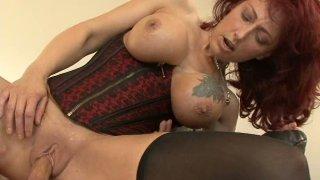 Nikki Sinn gives master class in riding a dick image