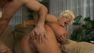 Fatty short haired milf desires getting fucked doggy image