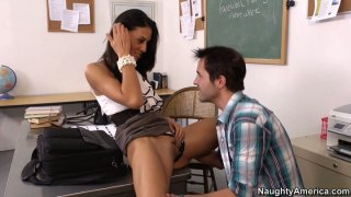 Clever student Lyla Storm gets a reward in the form of ardent fuck image